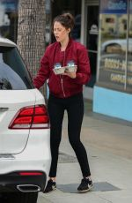 AMANDA CREW Out for Coffee in Studio City 04/26/2019