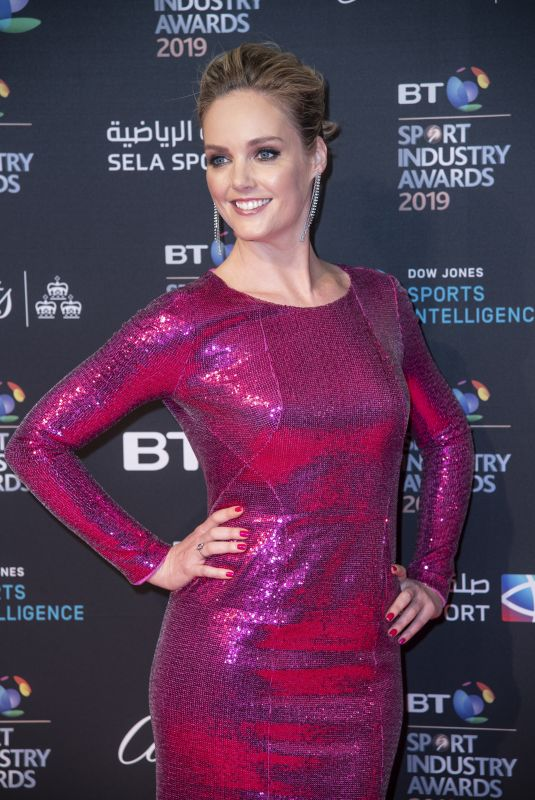 AMANDA DAVIES at BT Sport Industry Awards 2019 in London 04/25/2019