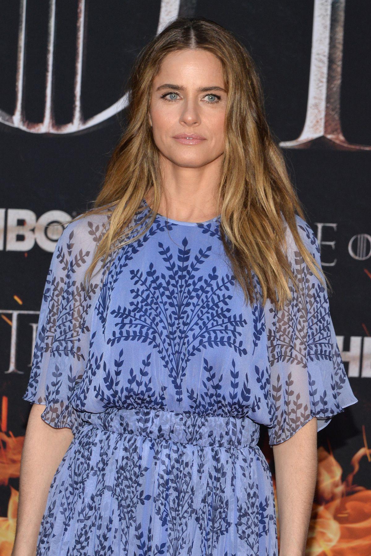 AMANDA PEET at Game of Thrones, Season 8 Premiere in New ...