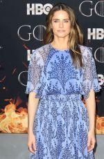 AMANDA PEET at Game of Thrones, Season 8 Premiere in New York 04/03/2019