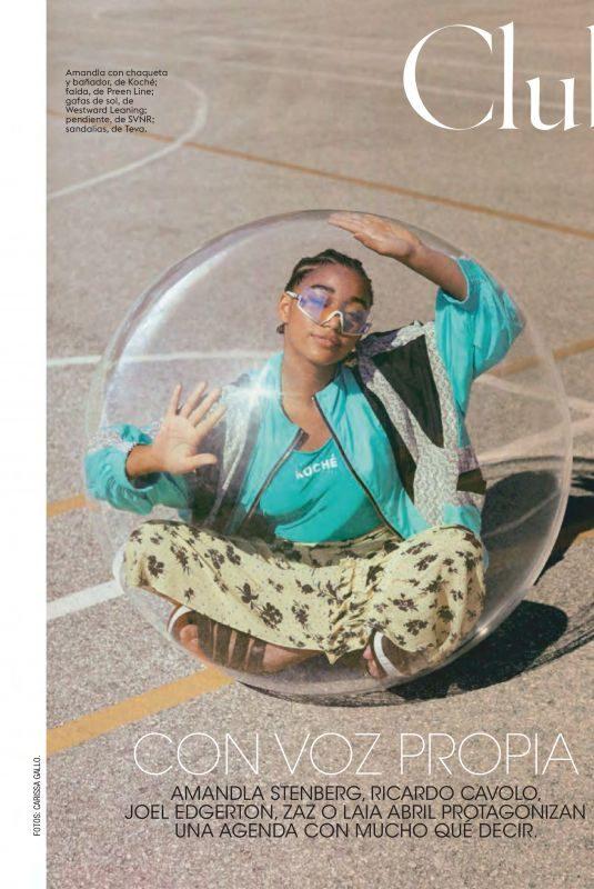 AMANDLA STENBERG in Glamour Magazine, Spain April 2019
