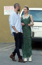 AMBER HEARD Leaves Mantee Cafe in Studio City 04/13/2019