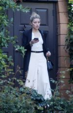 AMBER HEARD Out and About in Los Angeles 04/07/2019