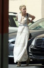 AMBER HEARD Out in Los Angeles 04/07/2019