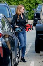 AMY ADAMS Leaves a Meeting in Los Angeles 04/09/2019