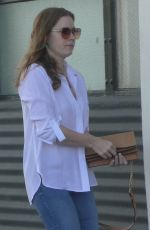 AMY ADAMS Out and About in Los Angeles 04/05/2019