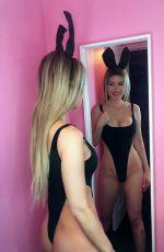 ANA BRAGA - Easter Bunny Photoshoot, April 2019