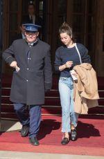 ANA DE ARMAS Leaves Ritz Hotel in Paris 04/11/2019