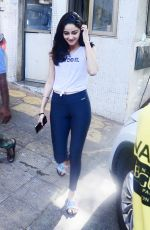 ANANYA PANDAY Out and About in Mumbai 04/11/2019