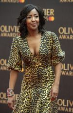 ANGELLICA BELL at 2019 Laurence Olivier Awards in London 04/07/2019