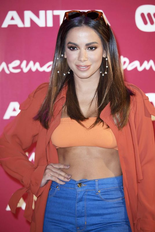 ANITTA Presents Her New Album Kisses in Madrid 04/09/2019