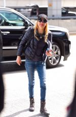 ANNA FARIS Out in New York 04/19/2019