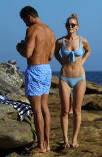 ANNA HEINRICH in Bikini at Bondi Beach in Sydney 04/07/2019