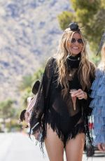 ANNALYNNE and RACHEL MCCORD Out at Coachella Festival in Indio 04/12/2019