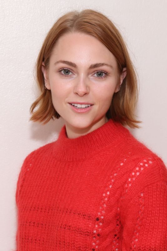 ANNASOPHIA ROBB at Macbeth Photocall in New York 04/12/2019