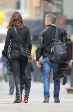 ANNE HATHAWAY and Adam Shulman Out in New York 04/16/2019