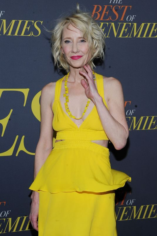 ANNE HECHE at The Best of Enemies Premiere in New York 04/04/2019