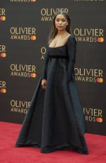 ANTONIA THOMAS at 2019 Laurence Olivier Awards in London 04/07/2019