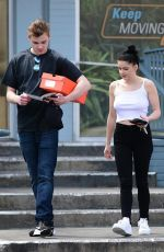 ARIEL WINTER and Levi Meaden Out in Studio City 04/05/2019