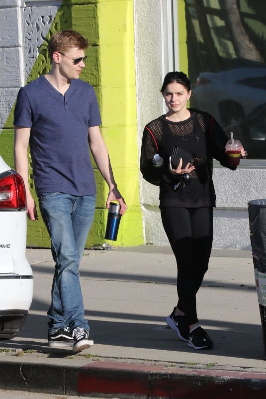 ARIEL WINTER and Levi Meaden Out in Studio City 04/19/2019