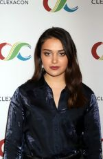 ARIELA BARER at Clexacon at Tropicana Hotel & Casino in Las Vegas 04/13/2019