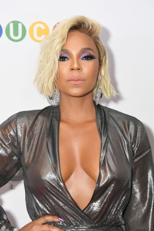 ASHANTI at Stuck Premiere in New York 04/16/2019