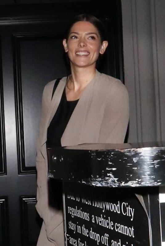 ASHEY GREENE at Craig's Restaurant in West Hollywood 04/27/2019