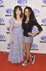 ASHLEUGH CUMMINGS at Wondercon 2019 in Las Vegas 03/30/2019
