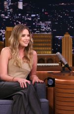 ASHLEY BENSON at Tonight Show Starring Jimmy Fallon 04/16/2019