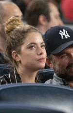 ASHLEY BENSON at Yankees vs Royals Game in Bronx 04/19/2019