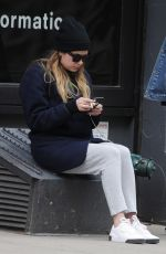 ASHLEY BENSON Out in New York 04/13/2019