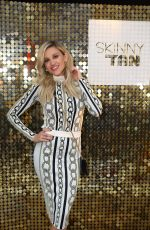 ASHLEY ROBERTS at Skinny Tan Celeb Launch Party in London 04/25/2019
