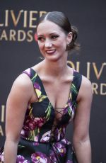 ASHLEY SHAW at 2019 Laurence Olivier Awards in London 04/07/2019