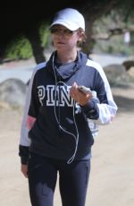 ASHLEY TISDALE Out Hiking in Los Angeles 04/15/2019