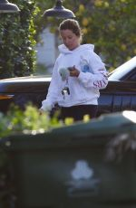 ASHLEY TISDALE Out in Los Angeles 04/03/2019