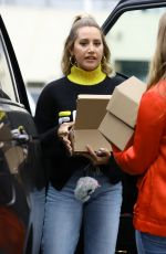 ASHLEY TISDALE Out in West Hollywood 04/04/2019