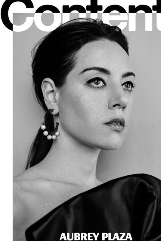 AUBREY PLAZA for Contentmode Magazine, April 2019