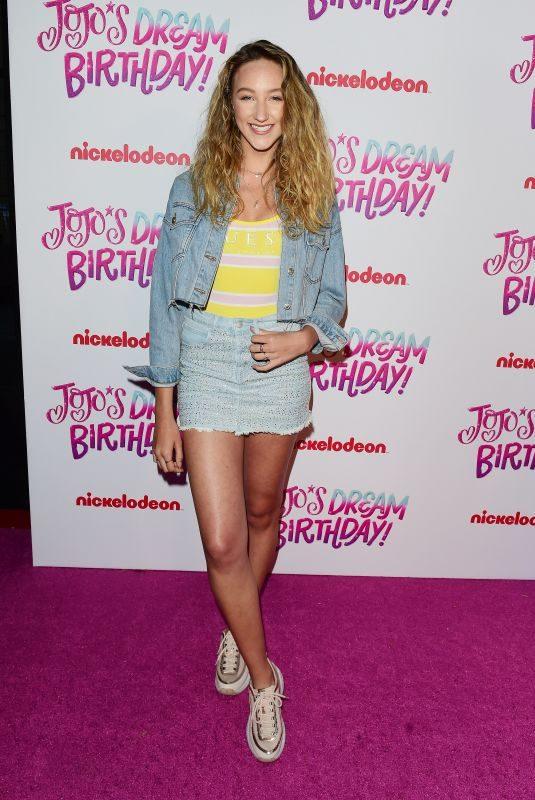AVA MICHELLE at Jojo Siwa's Sweet 16 Birthday Celebration in Hollywood 04/09/2019