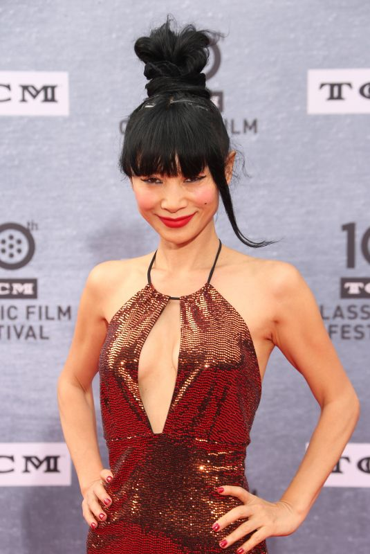 BAI LING at When Harry Met Sally 30th Anniversary Screening in Los Angeles 04/11/2019
