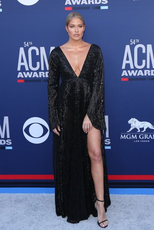 BARBIE BLANK at 2019 Academy of Country Music Awards in Las Vegas 04/07/2019