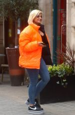 BEBE REXHA Out and About in London 04/04/2019