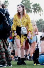 BELLA THORNE at Coachella Valley Music Festival in Indio 04/14/2019