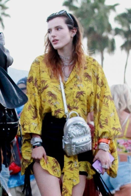 BELLA THORNE at Coachella Valley Music Festival in Indio 04/14/2019