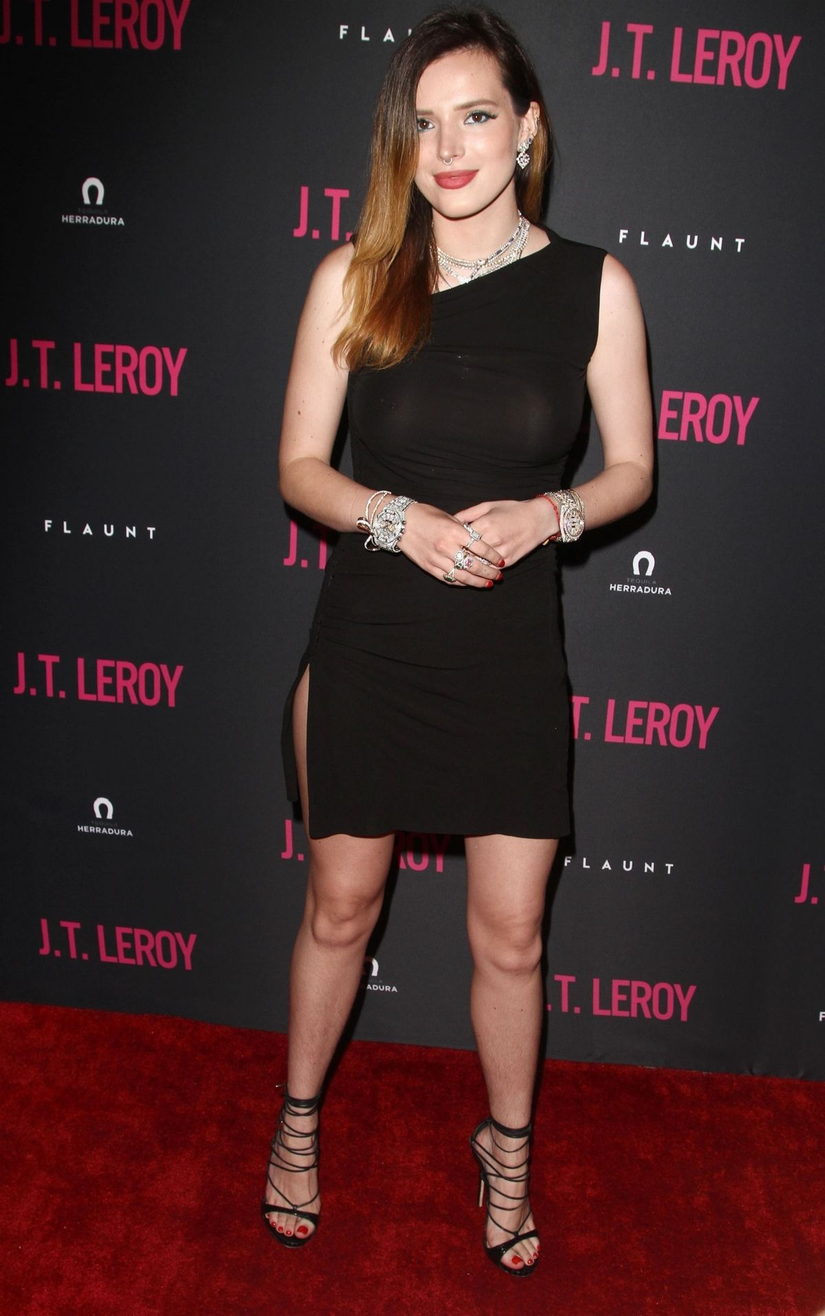 bella thorne at j t  leroy premiere in hollywood 04  24