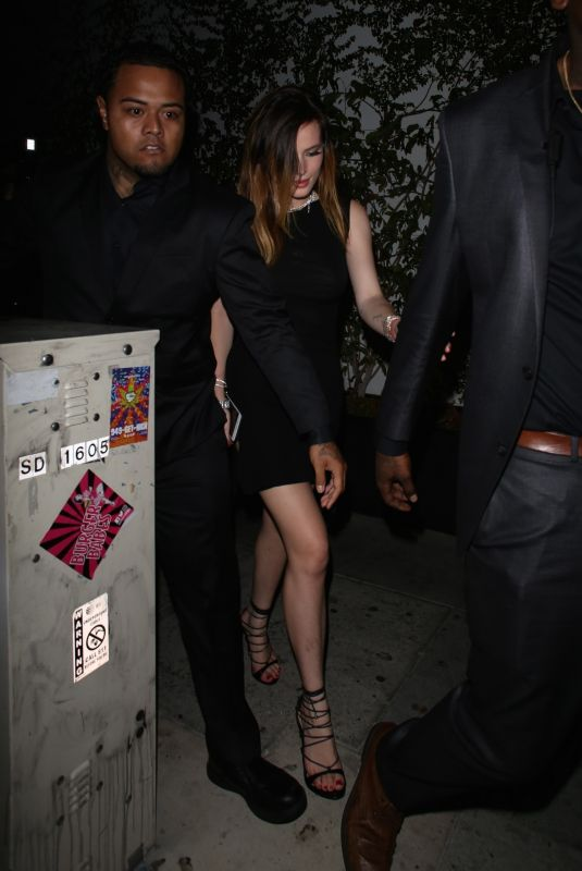 BELLA THORNE Night Out in Los Angeleas 04/24/2019