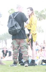 BELLA THORNE Out at Coachella in Indio 04/17/2019