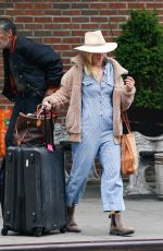 BETH BEHRS Leaves Bowery Hotel in New York 04/21/2019