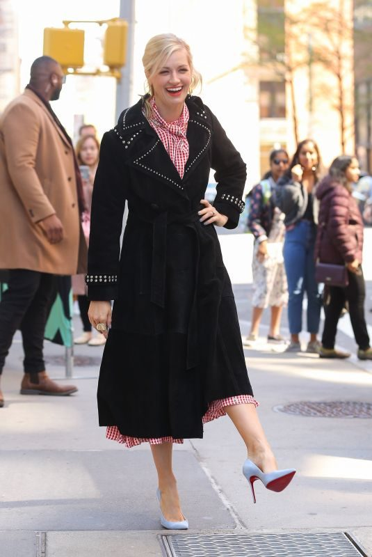BETH BEHRS Out in New York 04/17/2019