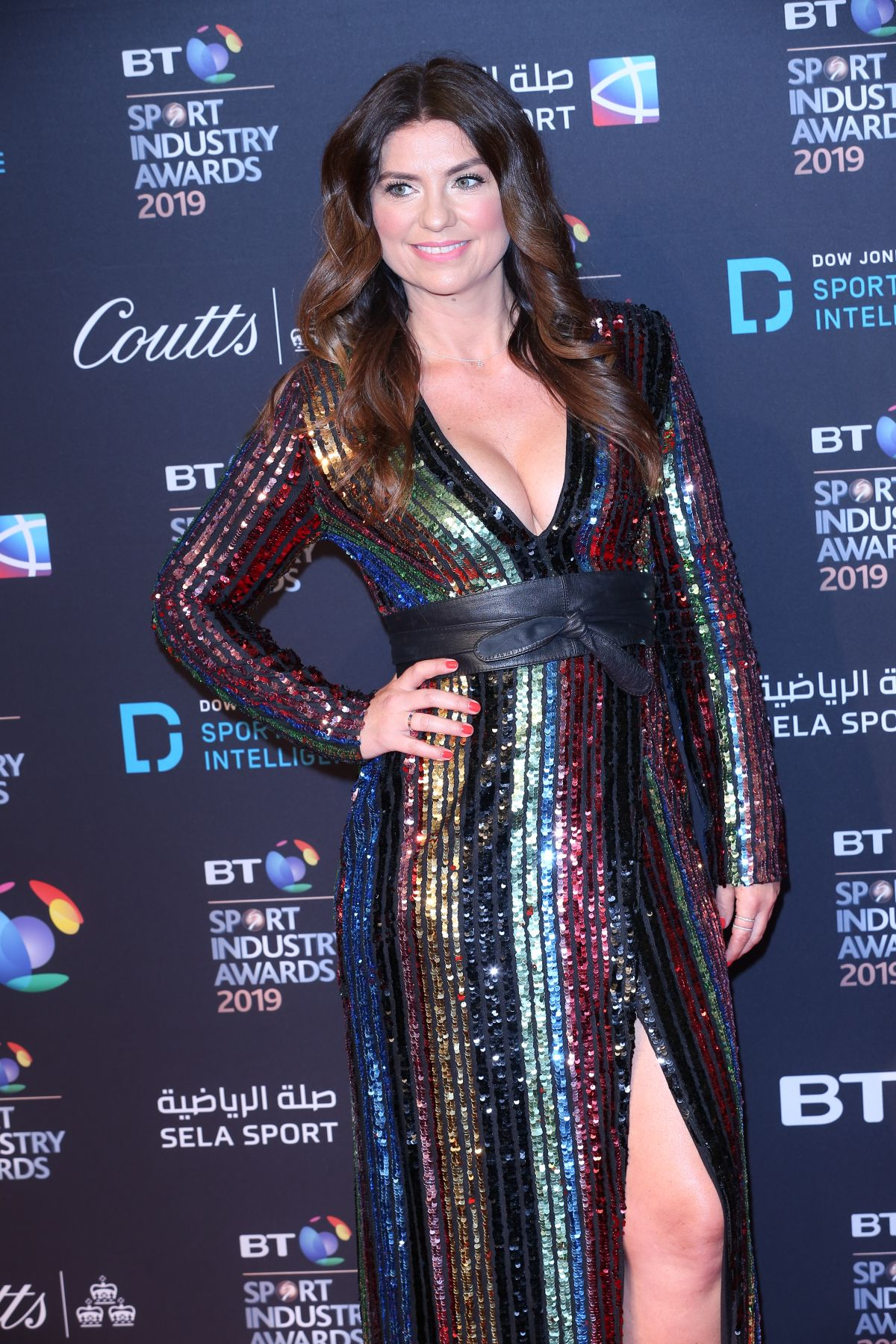 BIANCA WESTWOOD at BT Sport Industry Awards 2019 in London