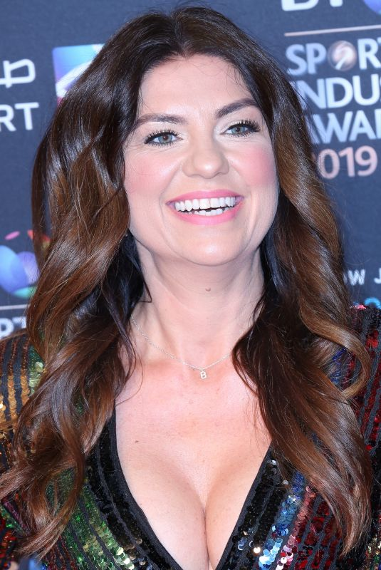 BIANCA WESTWOOD at BT Sport Industry Awards 2019 in London 04/25/2019